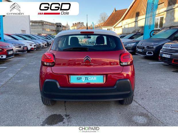 Photo miniature de la Citroën C3 BlueHDi 100ch Feel S&S E6.d-TEMP BVM5 2019 d'occasion