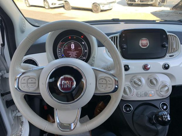 Photo miniature de la Fiat 500 1.2 8v 69ch Lounge 2019 d'occasion