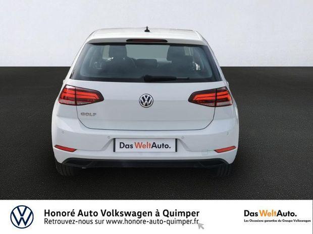 Photo miniature de la Volkswagen Golf 1.0 TSI 115ch Trendline Euro6d-T 5p 2019 d'occasion