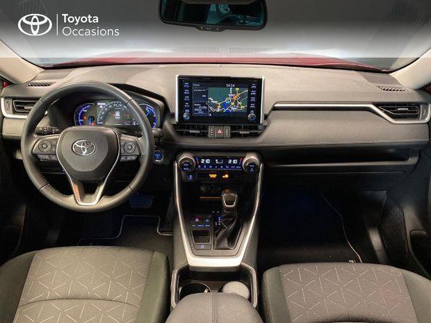 Photo miniature de la Toyota RAV4 Hybride 218ch Dynamic 2WD 2019 d'occasion