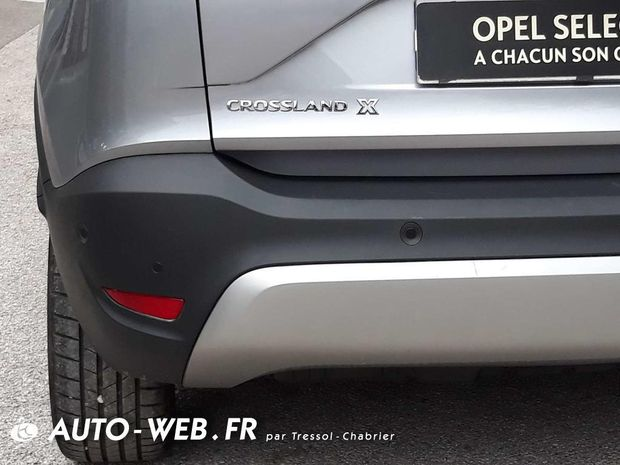 Photo miniature de la Opel Crossland X 1.2 Turbo 110 ch Design 120 ans 2020 d'occasion