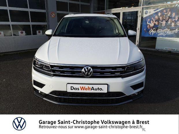 Photo miniature de la Volkswagen Tiguan 2.0 TDI 150ch Carat DSG7 Euro6d-T 2020 d'occasion