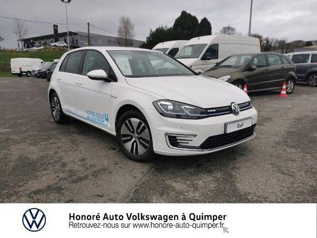 Photo miniature de la Volkswagen Golf e- 136ch 4cv 2020 d'occasion