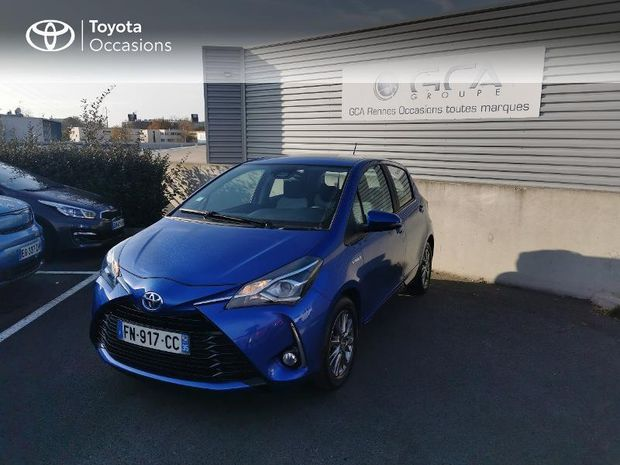 Photo miniature de la Toyota Yaris 100h Dynamic Business 5p RC18 2020 d'occasion