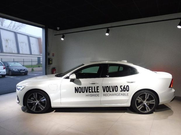 Photo miniature de la Volvo S60 T8 Twin Engine 303 + 87ch Inscription First Edition Geartronic 8 2020 d'occasion
