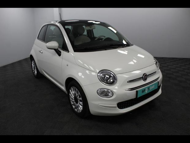 Photo miniature de la Fiat 500 1.2 8v 69ch Lounge 2019 d'occasion