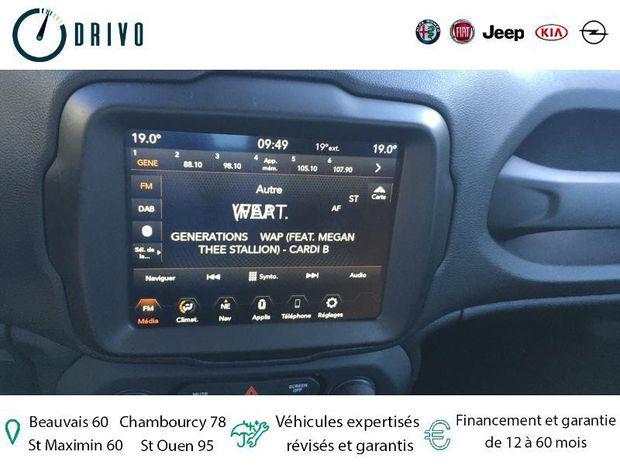 Photo miniature de la Jeep Renegade 1.0 GSE T3 120ch Limited 2020 d'occasion