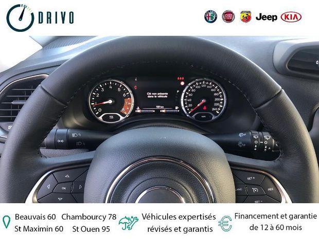 Photo miniature de la Jeep Renegade 1.3 GSE T4 150ch Limited BVR6 2020 d'occasion