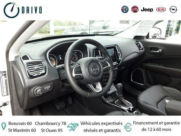 Photo miniature de la Jeep Compass 1.3 GSE T4 150ch Limited 4x2 BVR6 2020 d'occasion