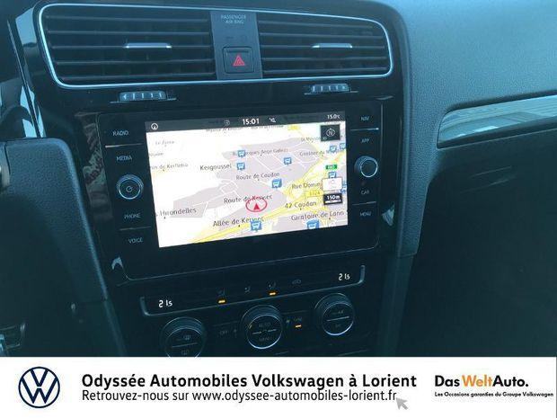 Photo miniature de la Volkswagen Golf 1.6 TDI 115ch FAP IQ.Drive Euro6d-T 5p 2019 d'occasion