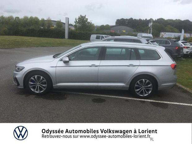 Photo miniature de la Volkswagen Passat SW 1.4 TSI 218ch Hybride Rechargeable GTE Business DSG6 2020 d'occasion