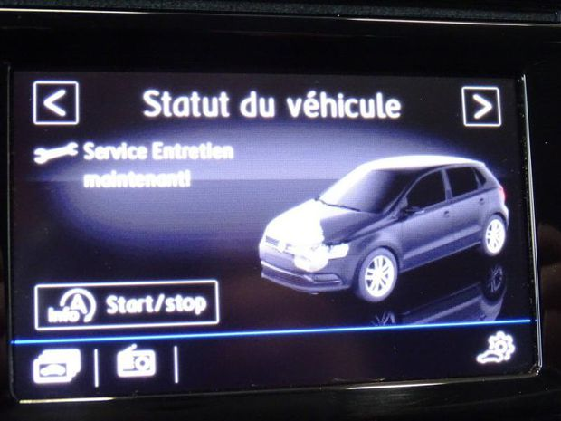 Photo miniature de la Volkswagen Polo 1.4 TDI 90ch BlueMotion Technology 5p 2017 d'occasion
