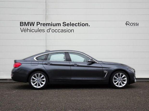 Photo miniature de la BMW Serie 4 Gran Coupe 420dA xDrive 190ch Luxury 2017 d'occasion