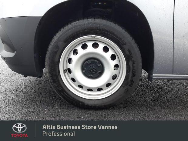 Photo miniature de la Toyota PROACE CITY Medium 100 D-4D Business 2020 d'occasion