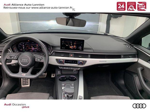 Photo miniature de la Audi A5 Cabriolet 3.0 TDI 218ch S line quattro S tronic 7 2018 d'occasion