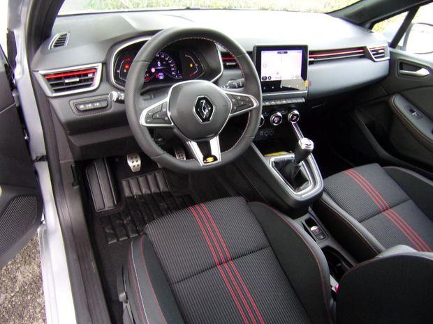 Photo miniature de la Renault Clio Blue dCi 115 RS Line 2020 d'occasion
