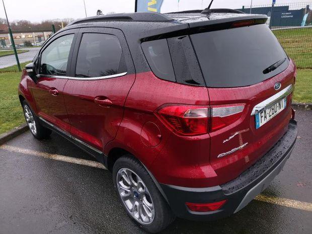 Photo miniature de la Ford EcoSport 1.0 EcoBoost 125ch Titanium Business 2018 d'occasion