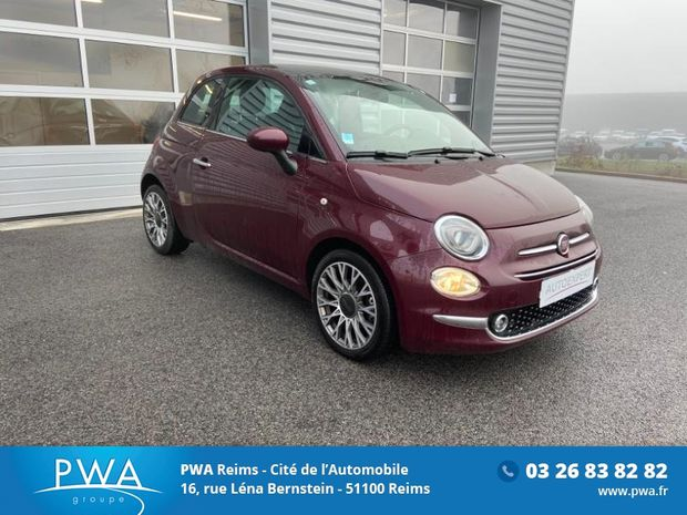Photo miniature de la Fiat 500 1.2 8v 69ch Eco Pack Star 2019 d'occasion