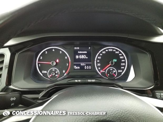 Photo miniature de la Volkswagen Polo 1.0 TSI 95 S&S DSG7 Confortline 2018 d'occasion