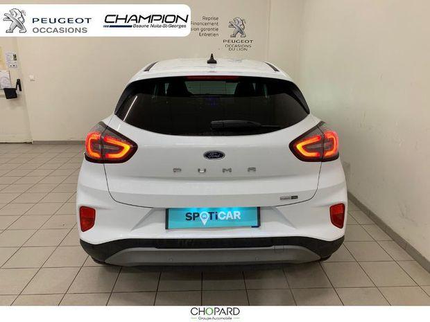 Photo miniature de la Ford Puma 1.0 EcoBoost 125ch mHEV Titanium 2020 d'occasion