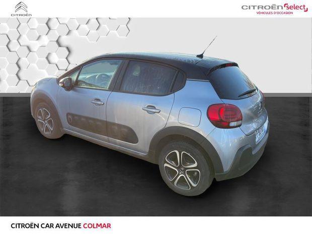 Photo miniature de la Citroën C3 BlueHDi 100ch Origins S&S E6.d-TEMP BVM5 2020 d'occasion