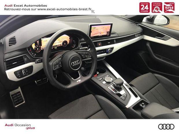 Photo miniature de la Audi Corsa NOUVELLE A4 AVANT 2.0 TDI 150 CH S TRONIC 7 S LINE 2019 d'occasion