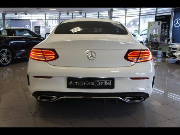 Photo miniature de la Mercedes Classe C Coupe 200 184ch AMG Line 9G-Tronic Euro6d-T 2019 d'occasion