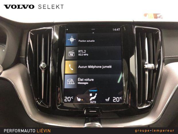 Photo miniature de la Volvo XC60 B4 AdBlue AWD 197ch R-Design Geartronic 2020 d'occasion