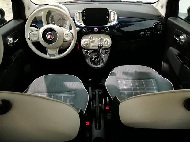 Photo miniature de la Fiat 500 1.2 8v 69ch S&S Lounge Dualogic 2019 d'occasion