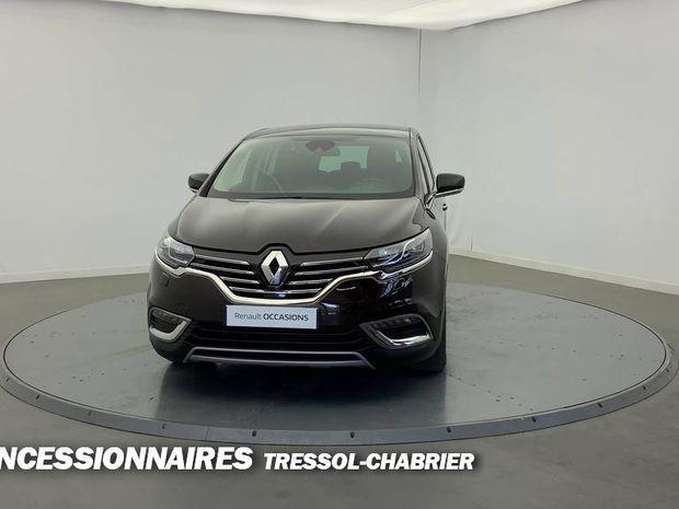 Photo miniature de la Renault Espace dCi 160 Energy Twin Turbo Intens EDC 2018 d'occasion