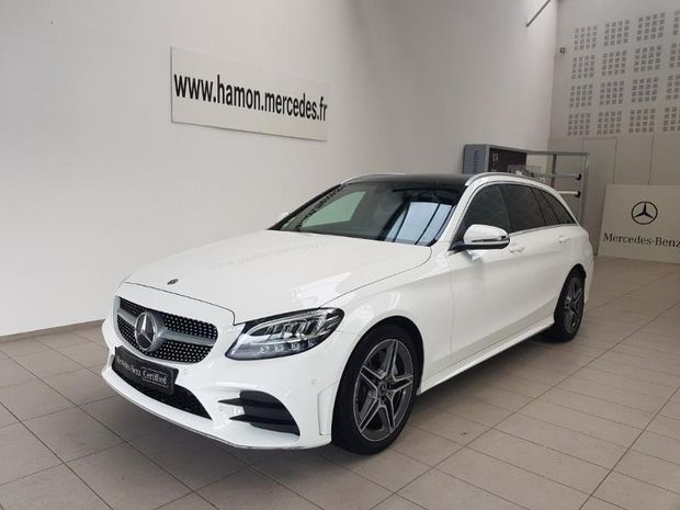Photo miniature de la Mercedes Classe C Break 220 d 194ch AMG Line 9G-Tronic 2020 d'occasion