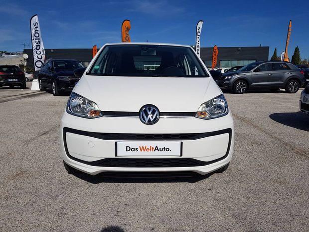 Photo miniature de la Volkswagen Up 1.0 60 BlueMotion Technology BVM5 Up! IQ.Drive 2019 d'occasion