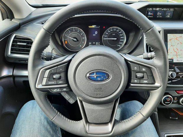 Photo miniature de la Subaru Impreza 1.6i Boxer 114 ch Lineartronic Luxury 2020 d'occasion
