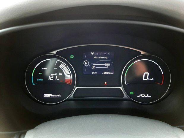 Photo miniature de la Kia Soul Moteur électrique 81,4 kW (110 ch) EV Ultimate 2018 d'occasion