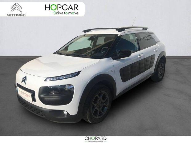Photo miniature de la Citroën C4 Cactus BlueHDi 100 Shine 2017 d'occasion