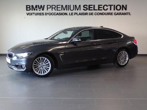 Photo miniature de la BMW Serie 4 Gran Coupe 420iA 184ch Luxury 2017 d'occasion