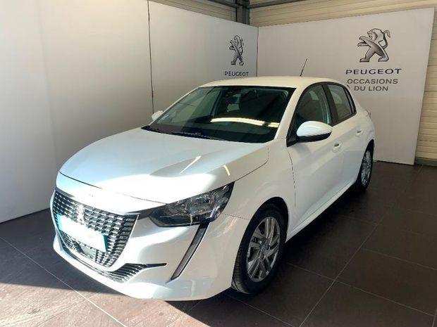Photo miniature de la Peugeot 208 1.2 PureTech 100ch S&S Active EAT8 2020 d'occasion