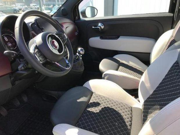 Photo miniature de la Fiat 500 1.2 8v 69ch Eco Pack Star 109g 2019 d'occasion