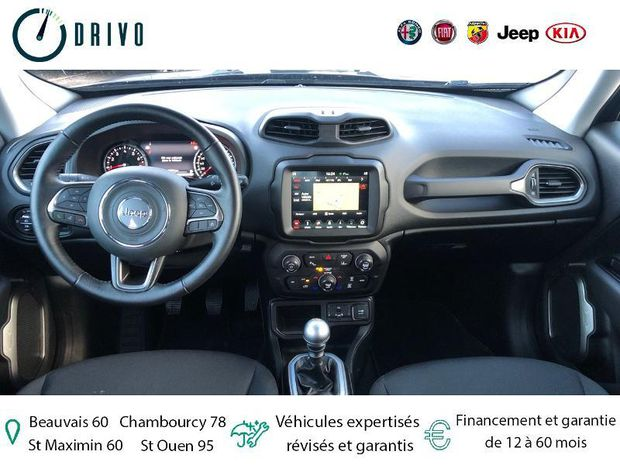 Photo miniature de la Jeep Renegade 1.0 GSE T3 120ch Limited 2019 d'occasion