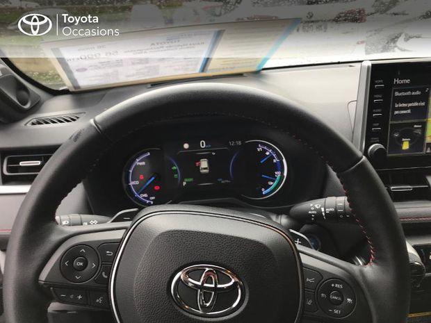 Photo miniature de la Toyota RAV4 Hybride Rechargeable 306ch Collection AWD 2020 d'occasion