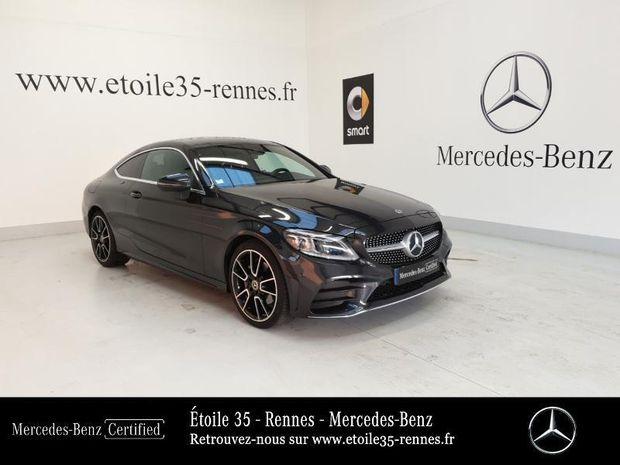 Photo miniature de la Mercedes Classe C Coupe 220 d 194ch AMG Line 9G-Tronic Euro6d-T 2020 d'occasion
