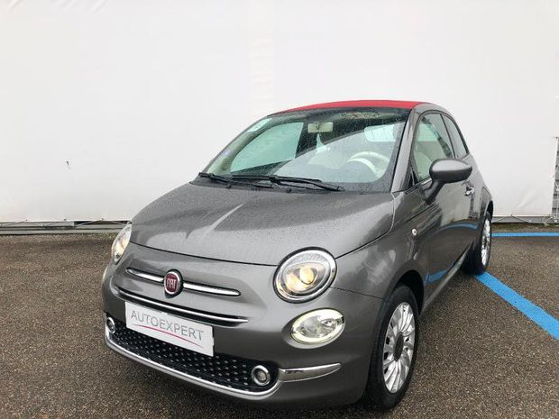 Photo miniature de la Fiat 500 C 1.2 8v 69ch Lounge 2018 d'occasion