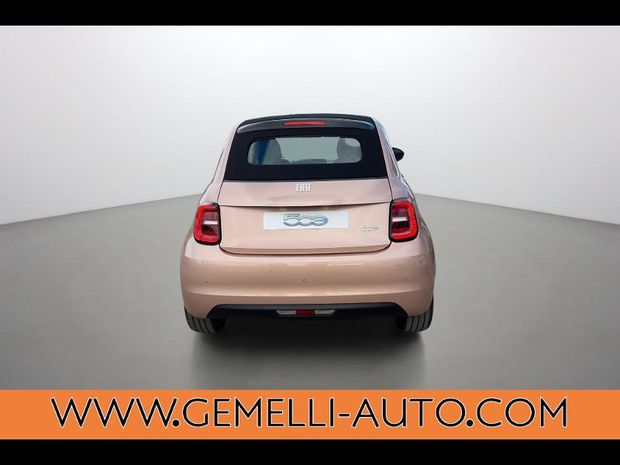 Photo miniature de la Fiat 500 C e 118ch Icône Plus 2020 d'occasion