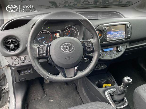 Photo miniature de la Toyota Yaris 110 VVT-i Design 5p RC18 2019 d'occasion