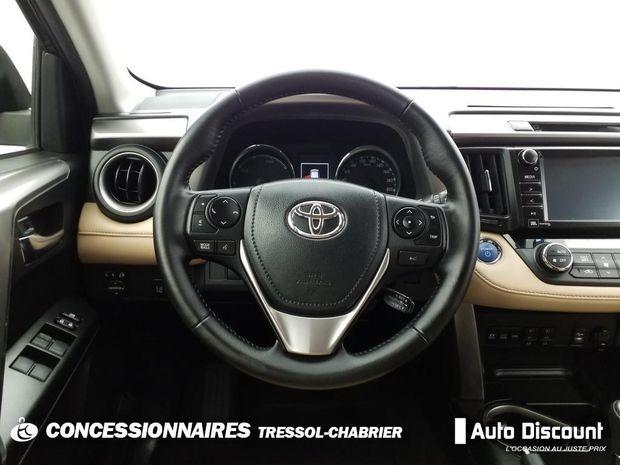 Photo miniature de la Toyota RAV4 Hybride 197ch 2WD Exclusive 2016 d'occasion
