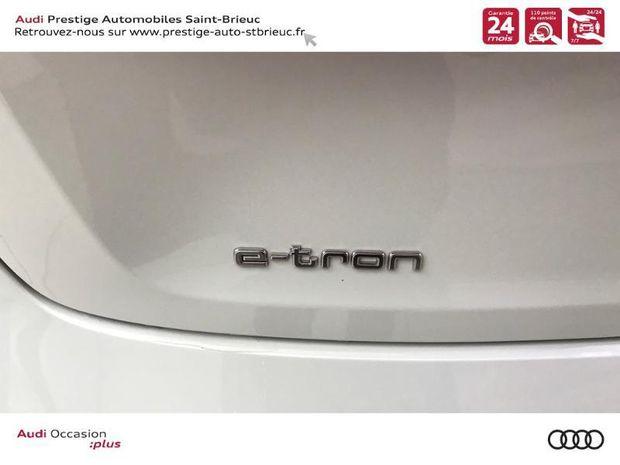 Photo miniature de la Audi E-tron 55 360ch Avus Extended e-quattro 2019 d'occasion