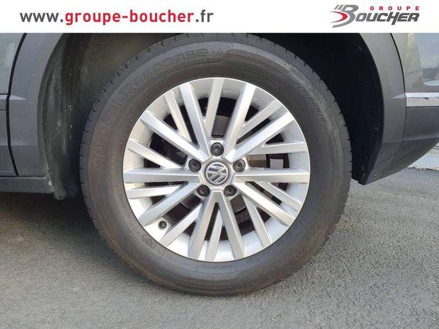 Photo miniature de la Volkswagen T-Roc 1.6 TDI 115 Start/Stop BVM6 Lounge Business 2018 d'occasion