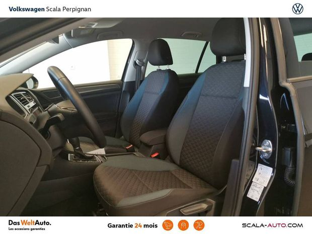 Photo miniature de la Volkswagen Golf 2.0 TDI 150 FAP DSG7 IQ.DRIVE + garantie 24 mois + Livraison Offerte 2019 d'occasion