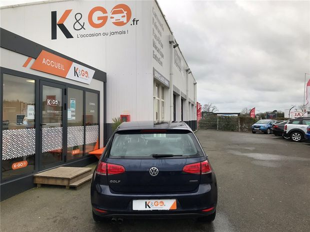 Photo miniature de la Volkswagen Golf 1.4 TSI 125 MULTIFUEL E85 2016 d'occasion