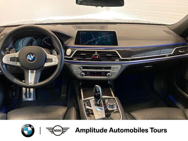 Photo miniature de la BMW Serie 7 740dA xDrive 320ch M Sport 2018 d'occasion